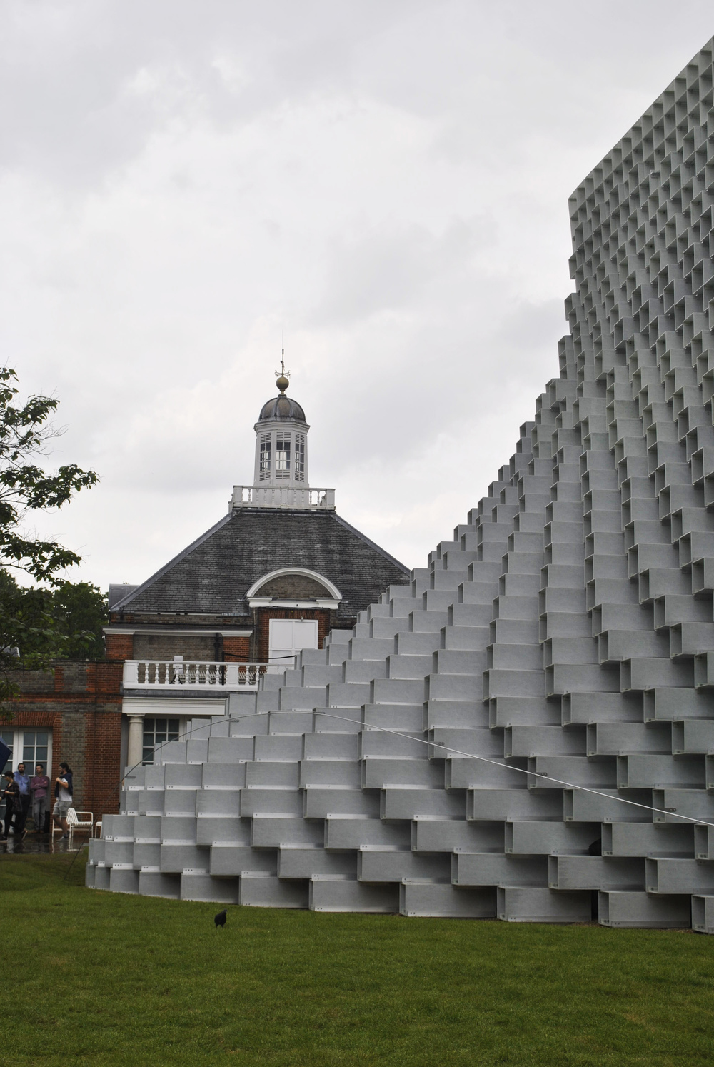 ©Detail Movement - Serpentine Gallery main pavilion by Bjarke Ingles Group(BIG)