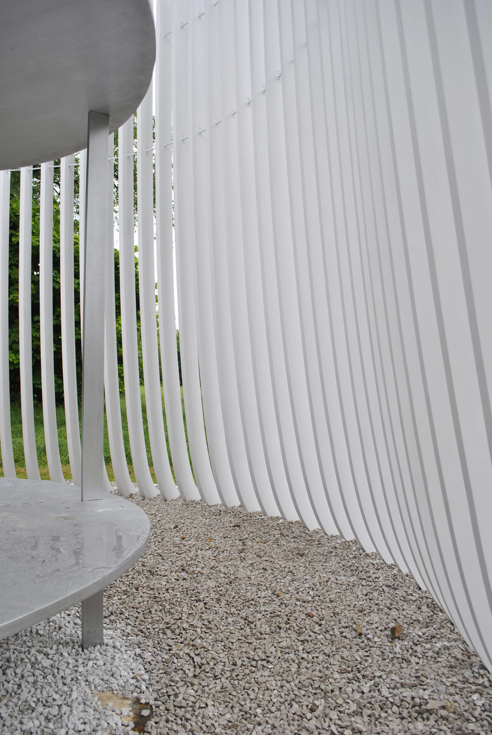 ©Detail Movement - Serpentine Gallery  Summer House Asif Khan - inside the pavilion