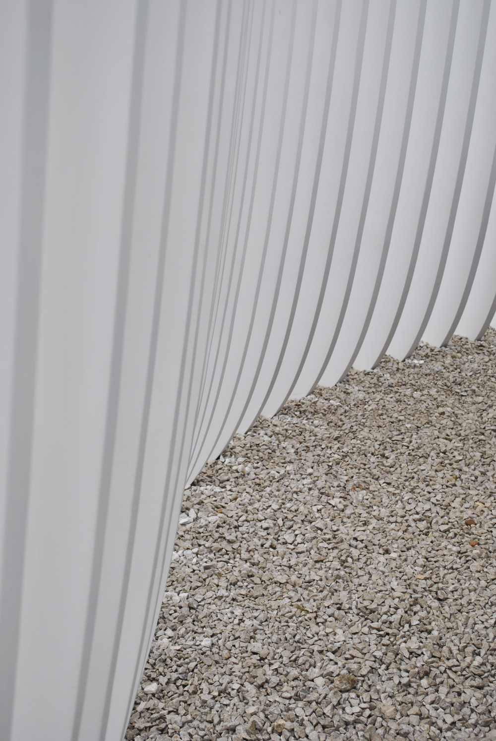 ©Detail Movement - Serpentine Gallery  Summer House Asif Khan - White elements detail