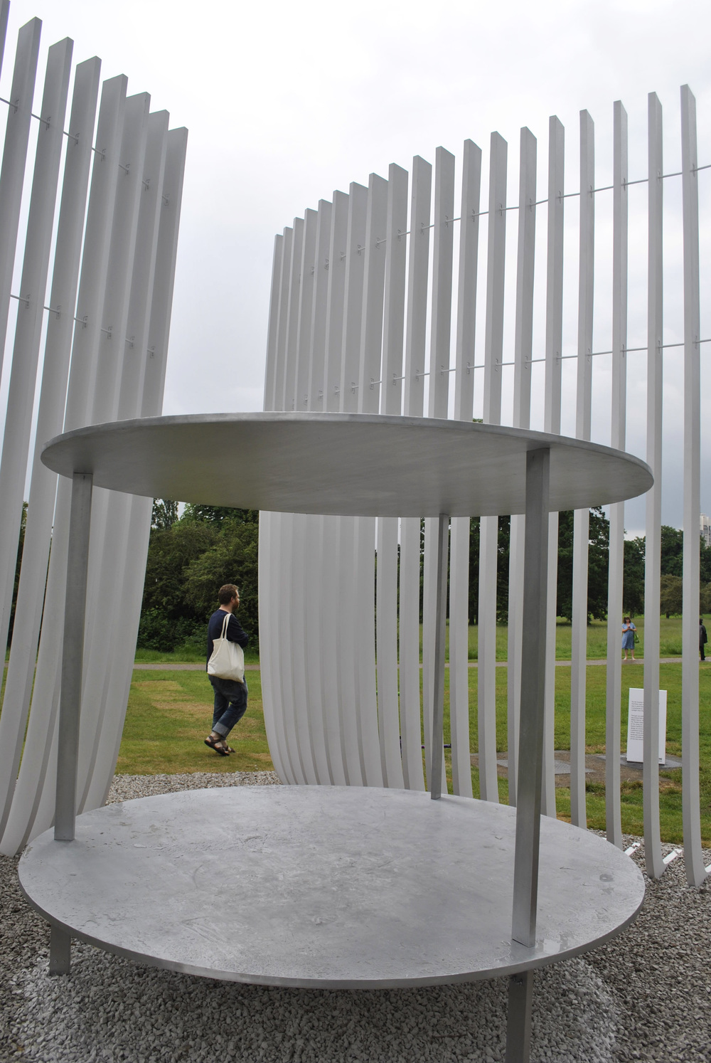 ©Detail Movement - Serpentine Gallery  Summer House Asif Khan - Sun and Moon shelter