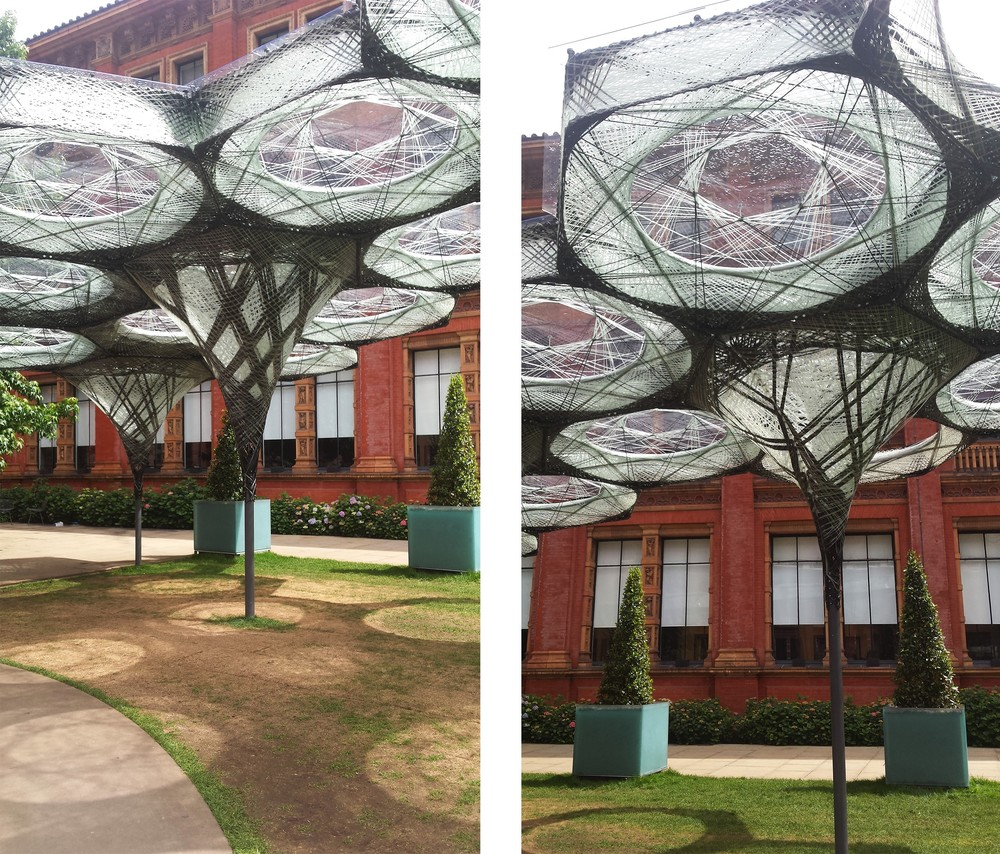 Elytra Filament Pavilion - V&A. picture by ©Detail Movement