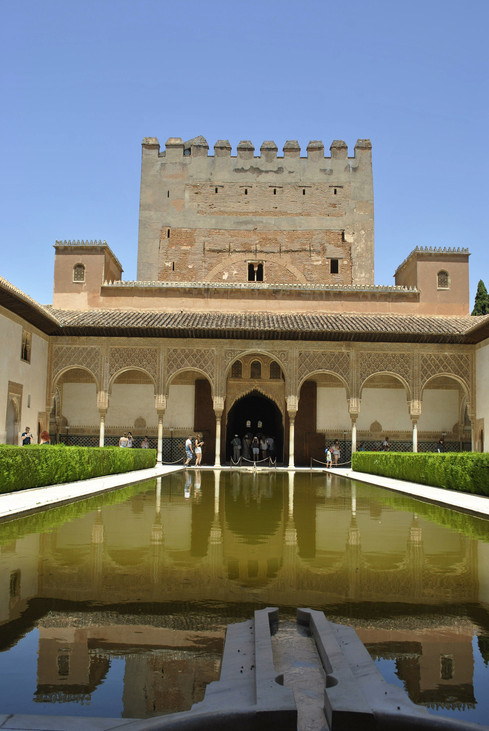 ©Detail Movement - Alhambra Nasrid Palace Court of the Myrtles