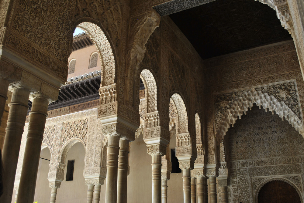 ©Detail Movement - Alhambra Nasrid Palace Court of the Lions