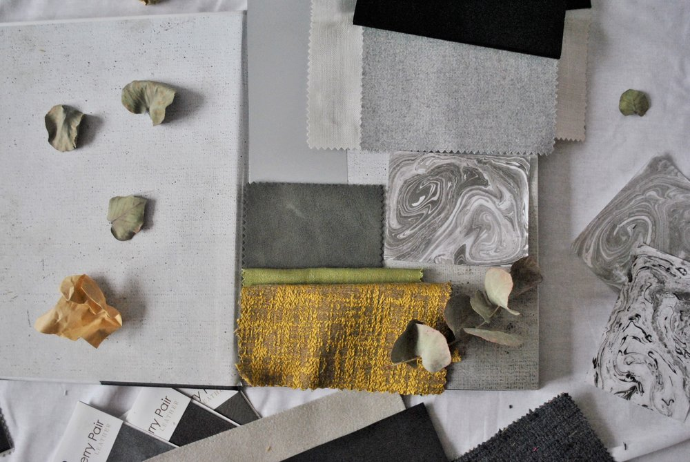 ©Detail Movement - Fabric moodboard