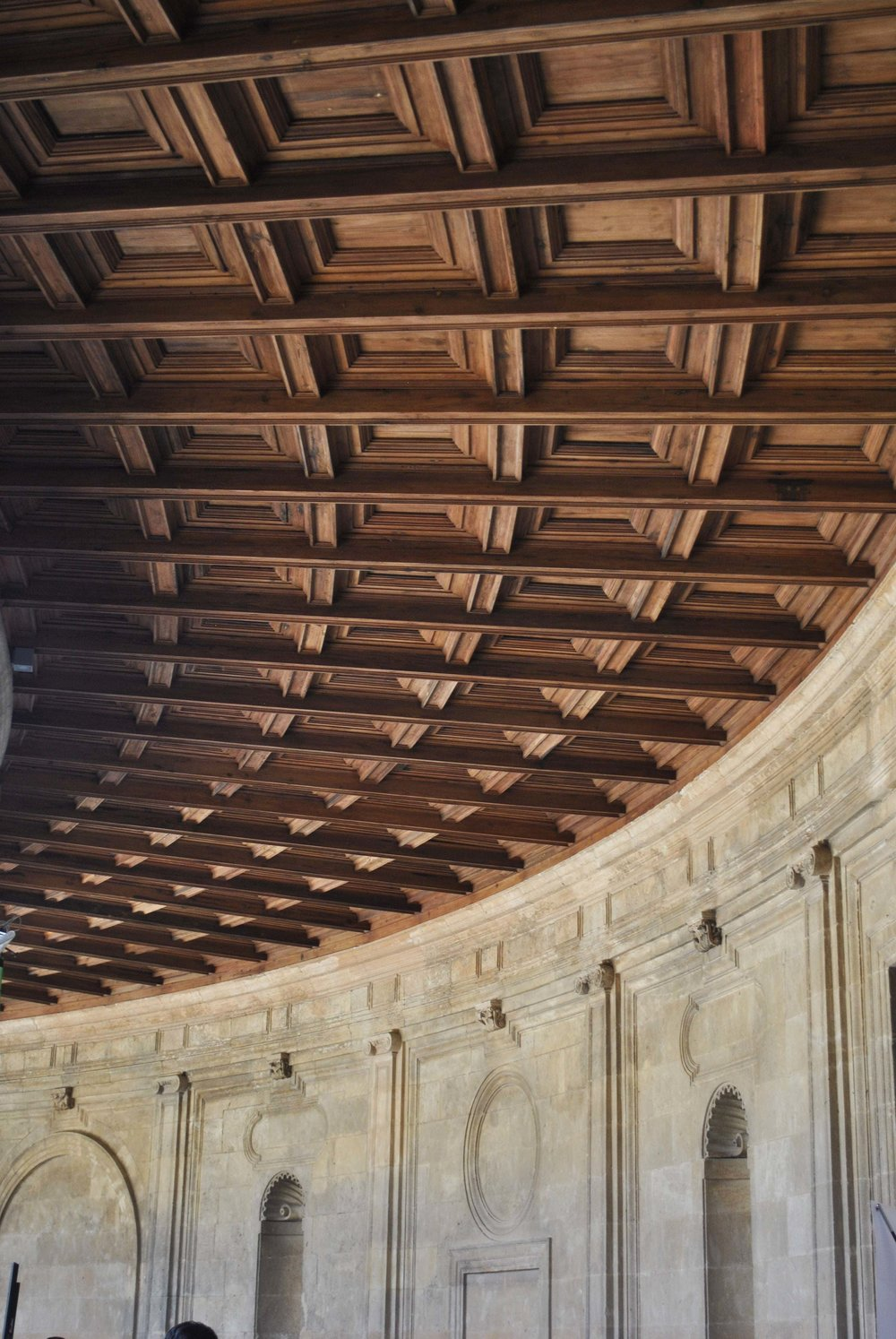 ©Detail Movement - Alhambra Palacio de Carlos V roof detail (no 11 on the map)