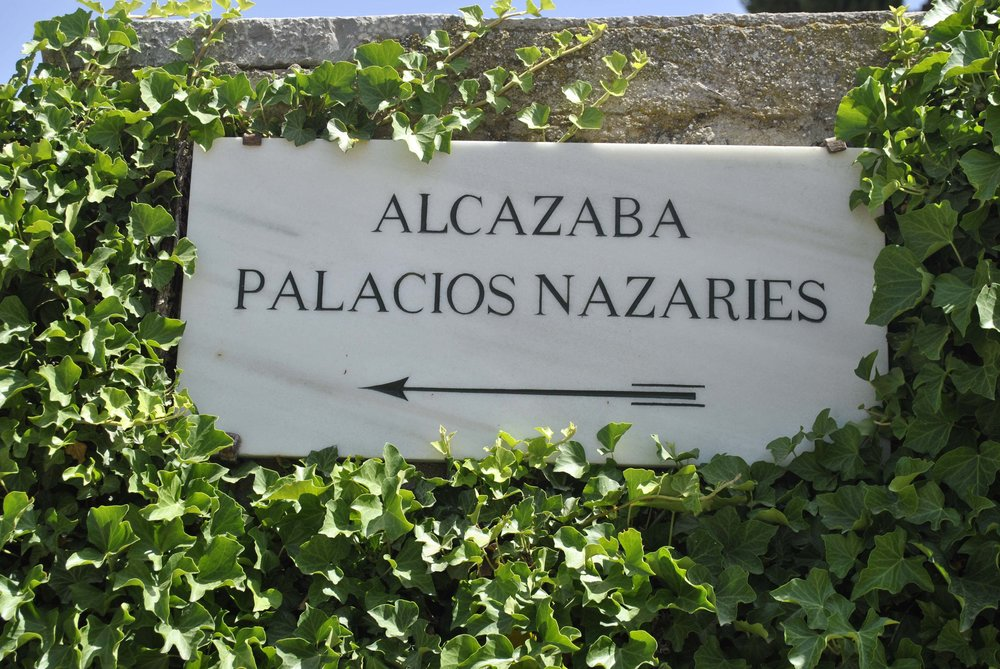 ©Detail Movement - Alhambra directions  (NO 11 TOWARDS NO 10 ON THE MAP)