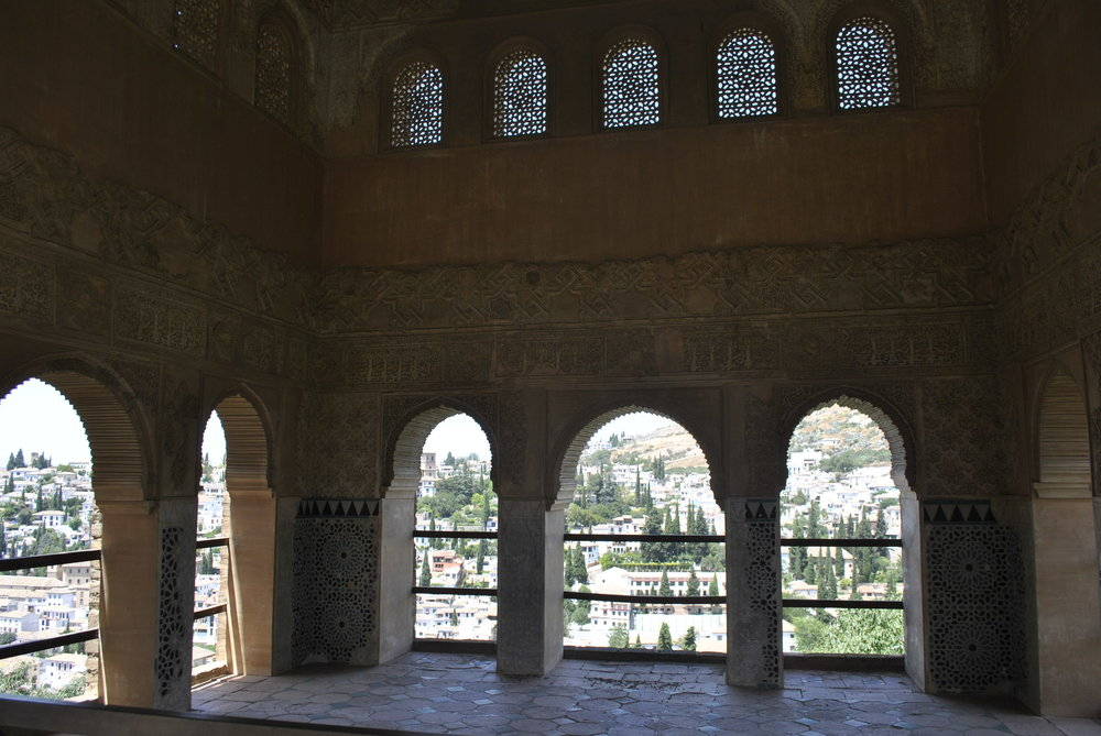 ©Detail Movement - Alhambra - The Partal Palace (no 31 on the map)