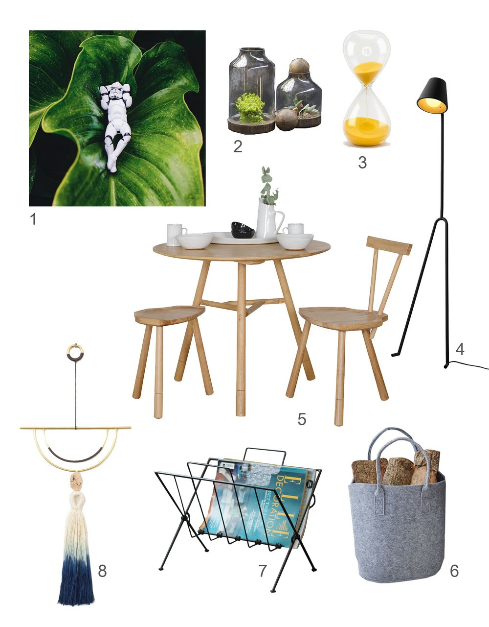 ©Detail Movement - Get the look series no 3 - Casual Breakfast Corner Mood board