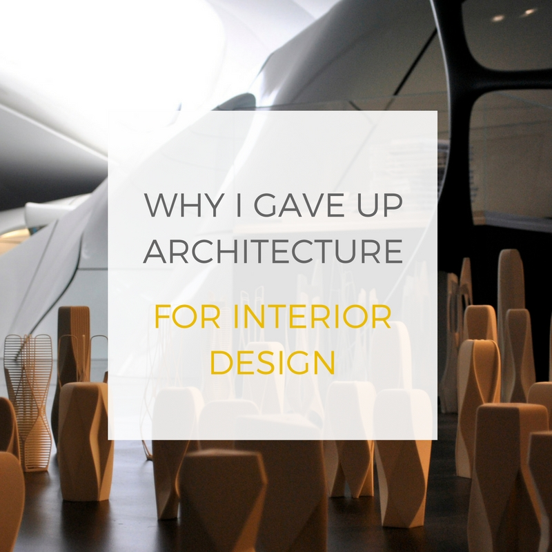 Why I Gave Up Architecture For