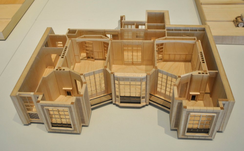 ©Detail Movement_Architecture Model of an Apartment Layout