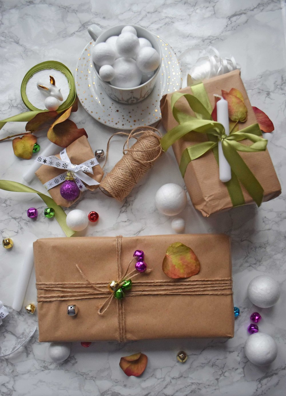 3 ways to gift wrap your presents this Christmas - Final Look - ©Detail Movement