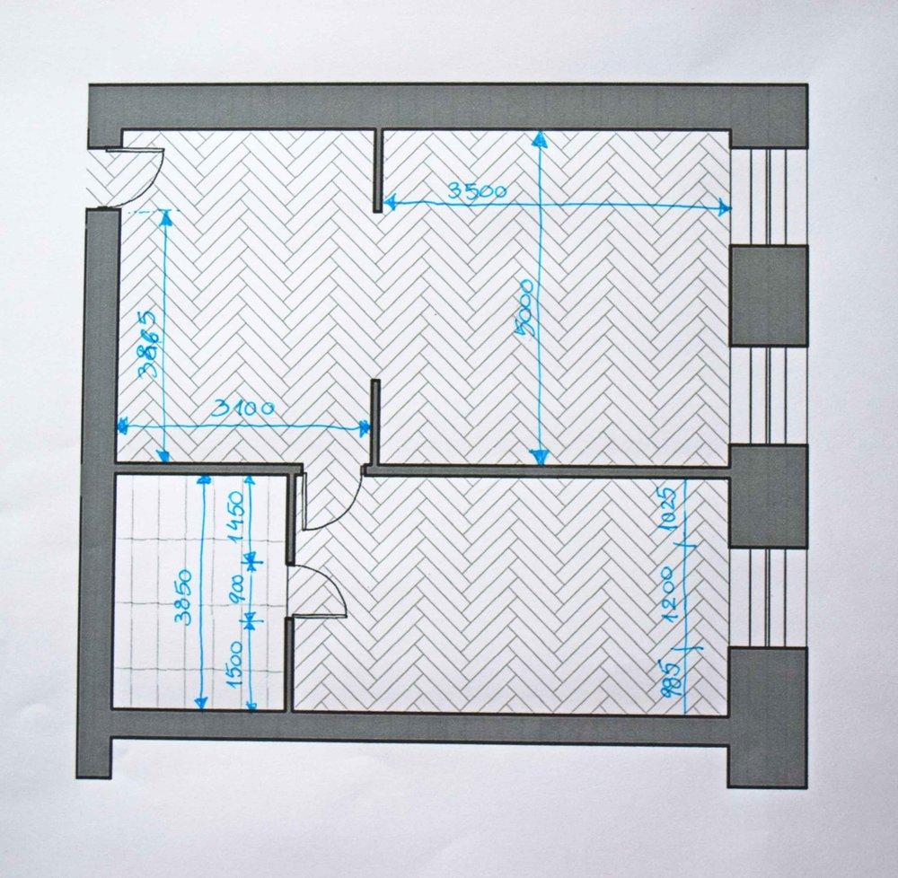 Plan measurements 2 - ©Detail Movement