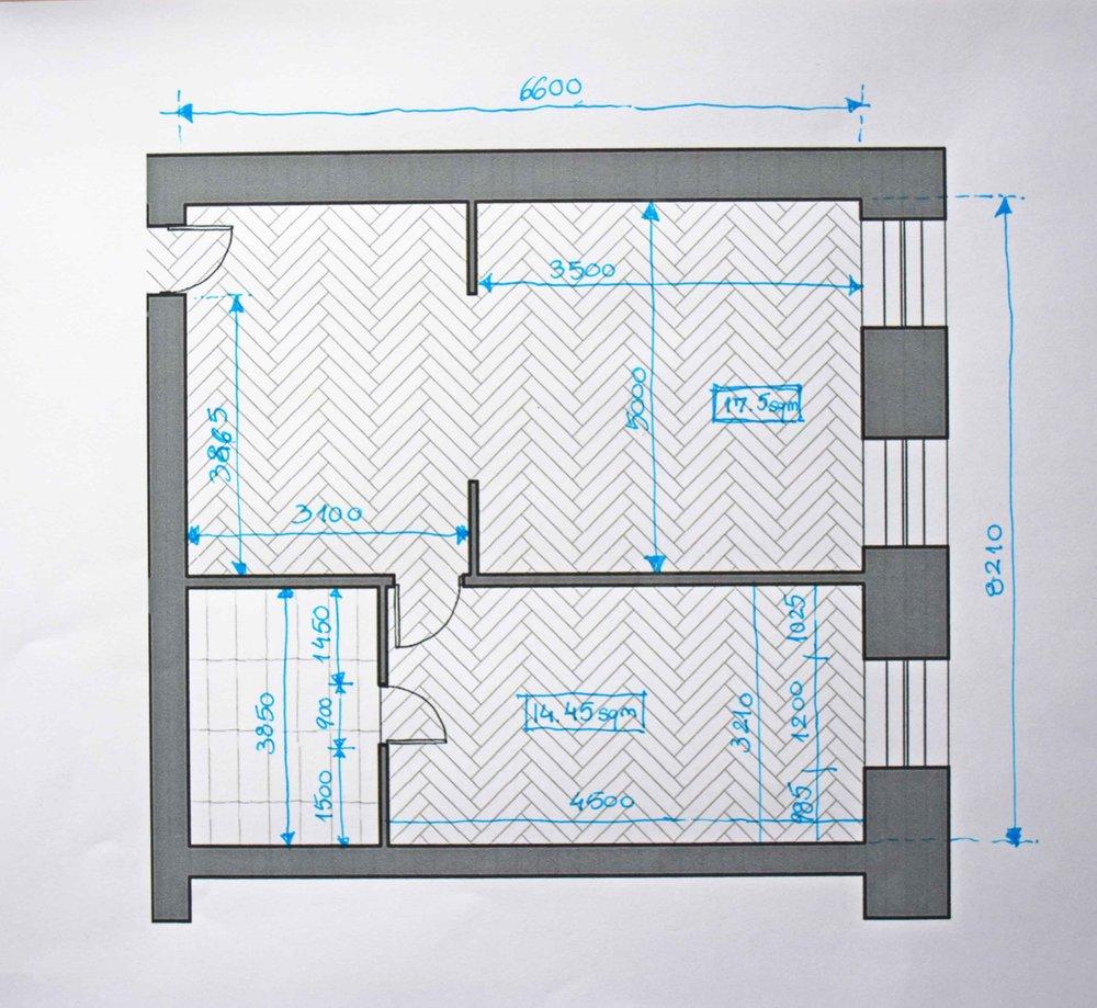 Plan measurements 4 - ©Detail Movement