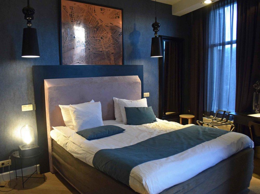 Amsterdam Interior Design Hotel No.377 room - ©Detail Movement