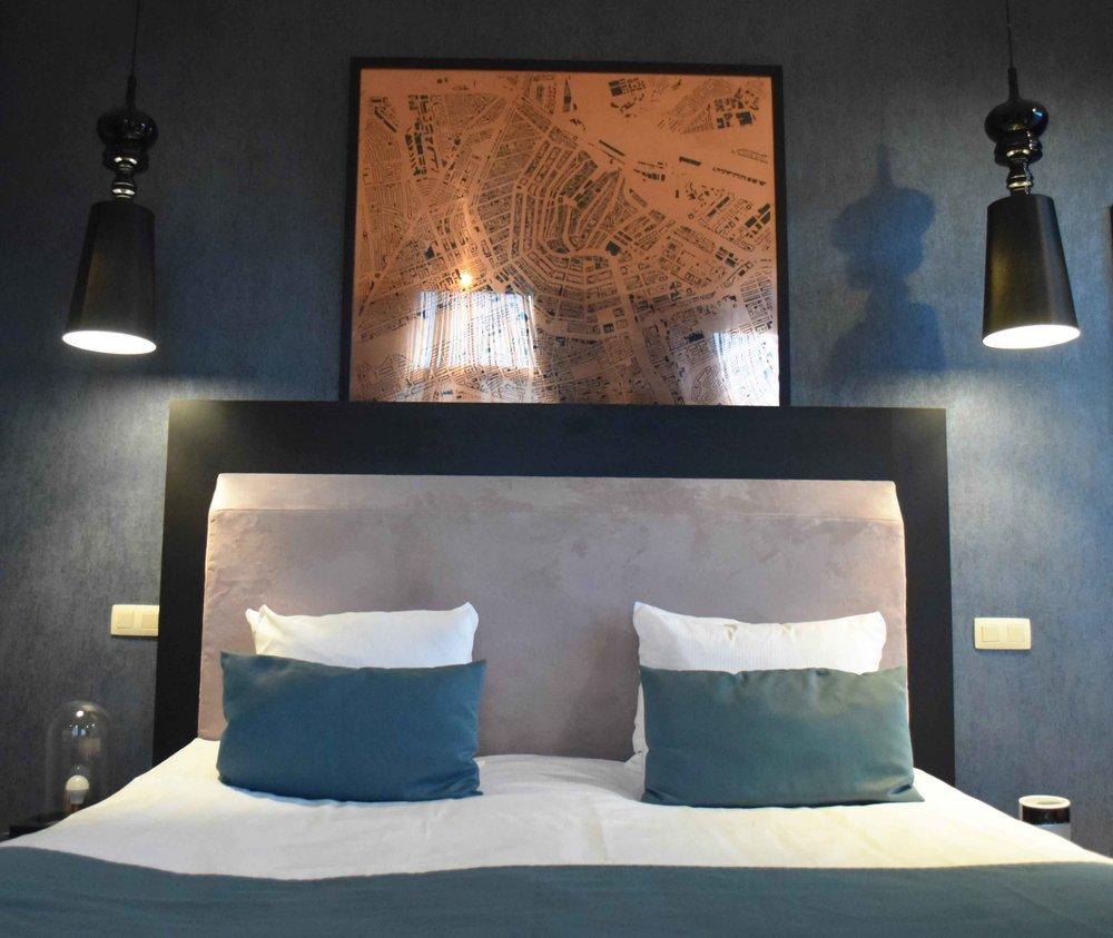 Amsterdam Interior Design Hotel No.377 - ©Detail Movement