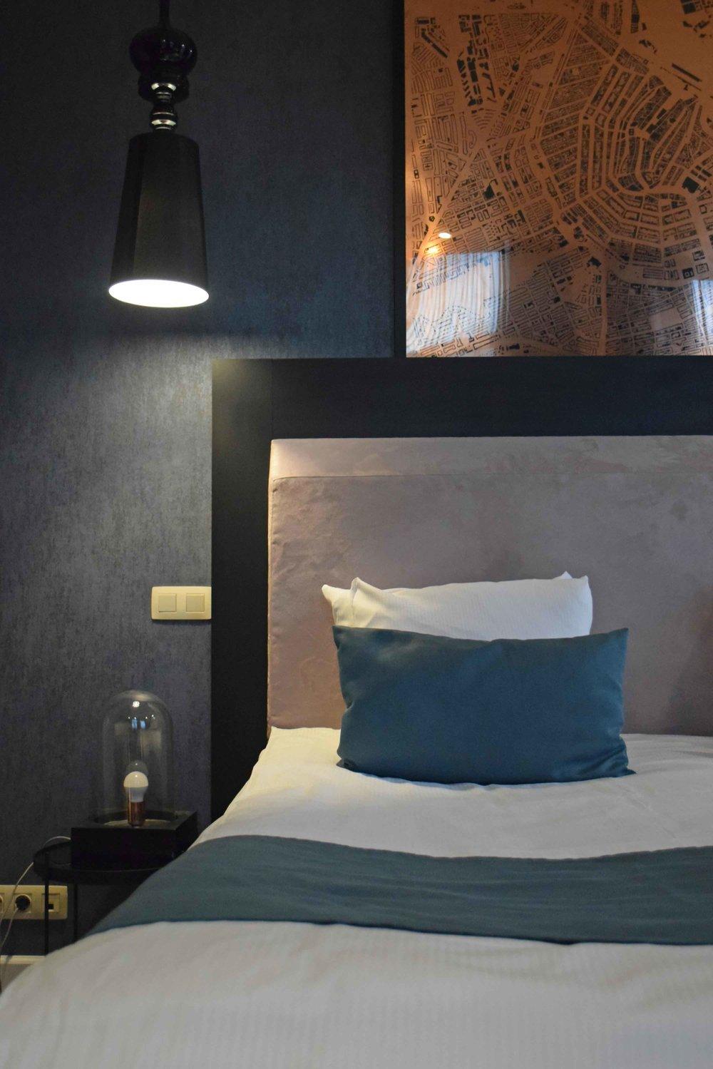 Amsterdam Interior Design Hotel No.377 detail - ©Detail Movement