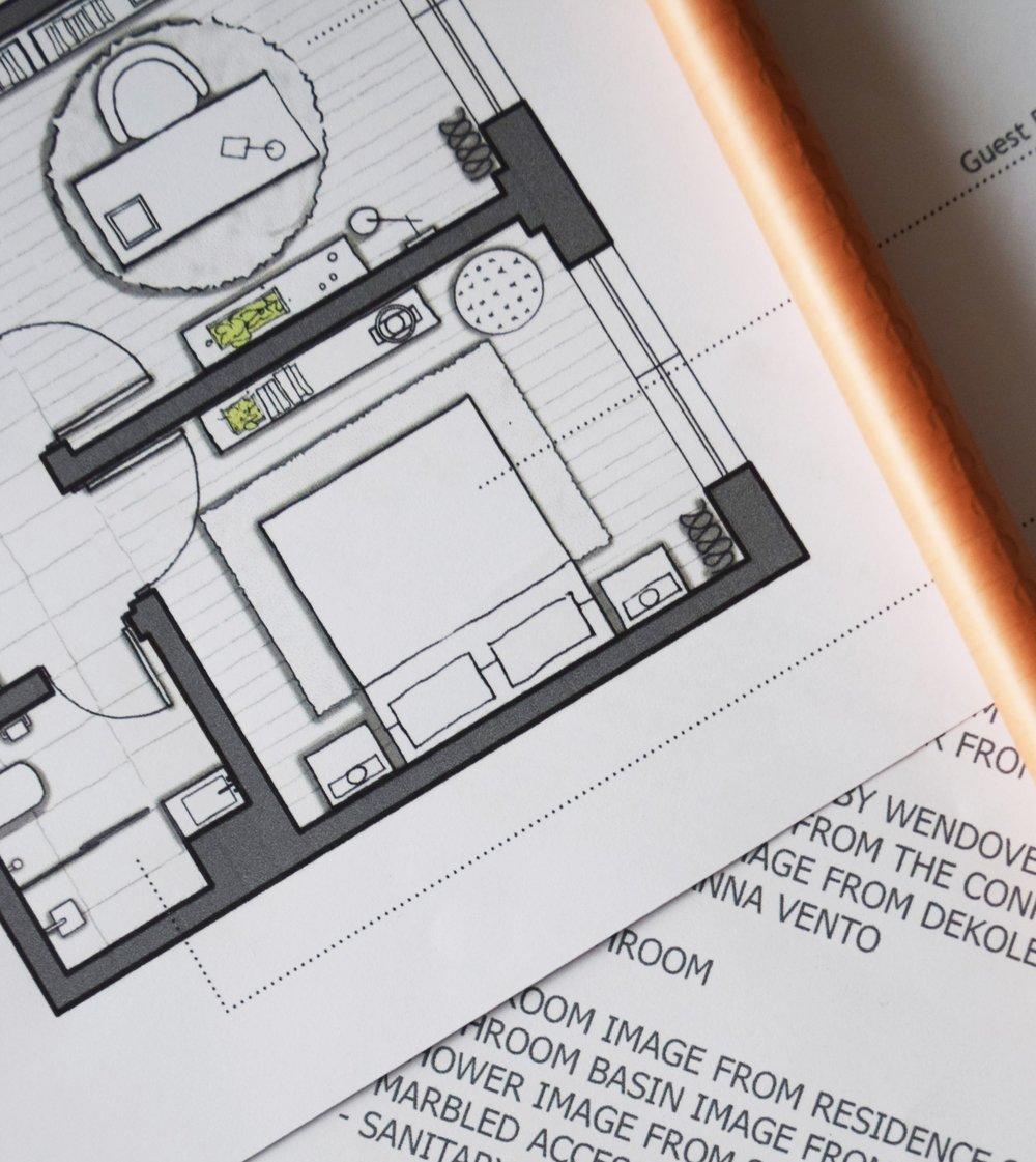 Interior plan ©Detail Movement