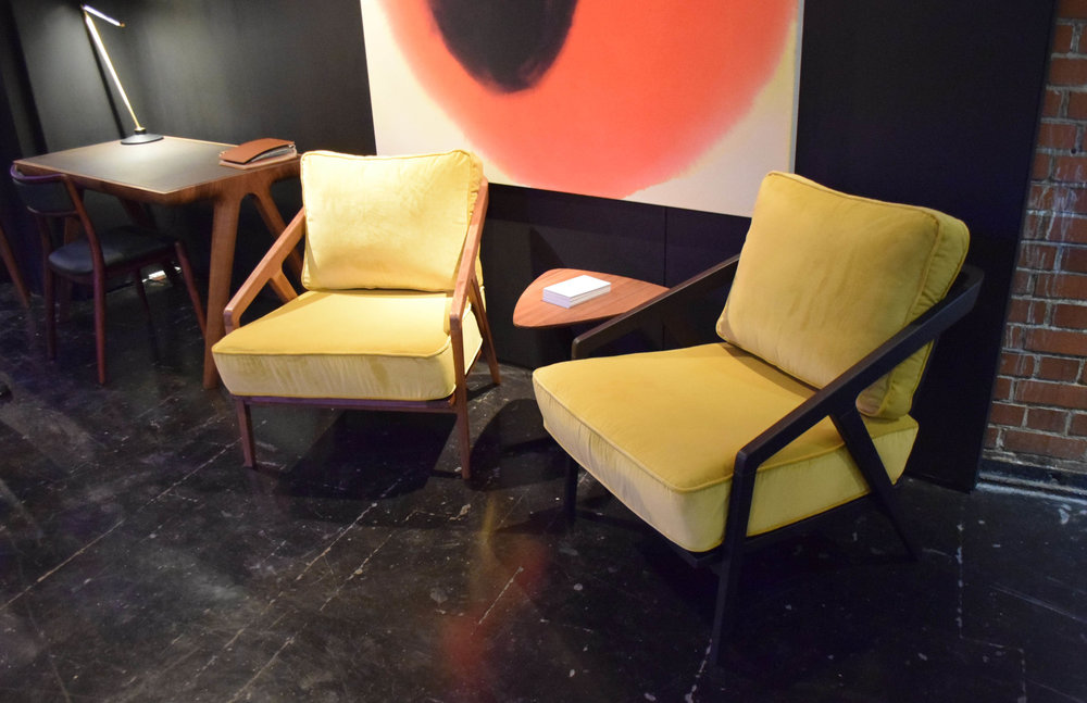 Katakana Lounge Chairs by Dare Studio ©Detail Movement