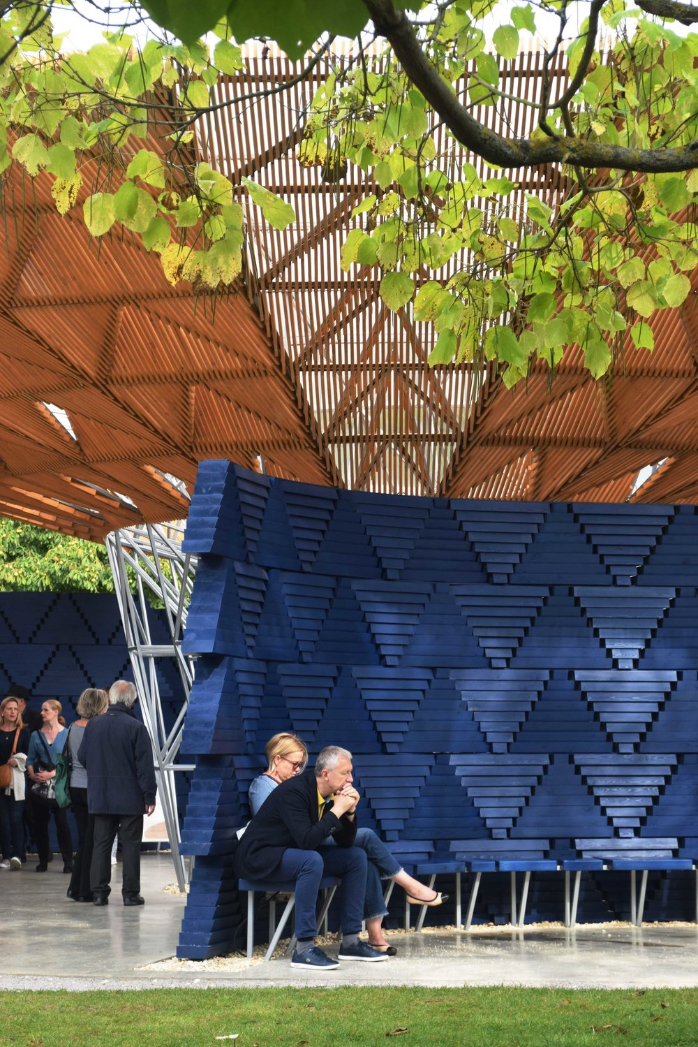 Serpentine Pavilion ©Detail Movement 9