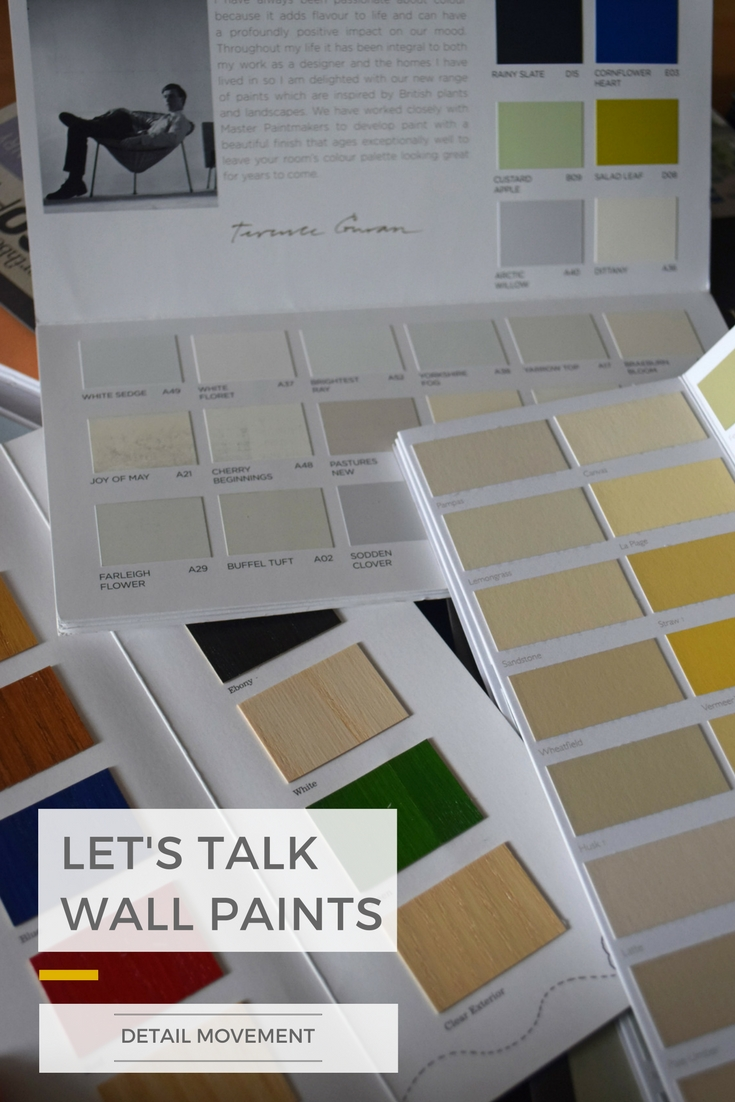 Lets talk wall paint ©Detail Movement PIN