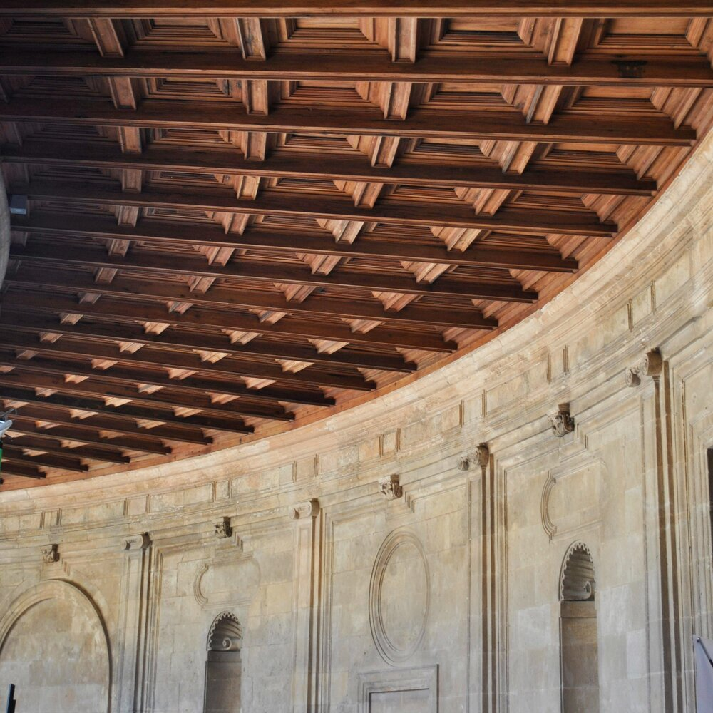 ©Detail Movement - alhambra wooden roof detail