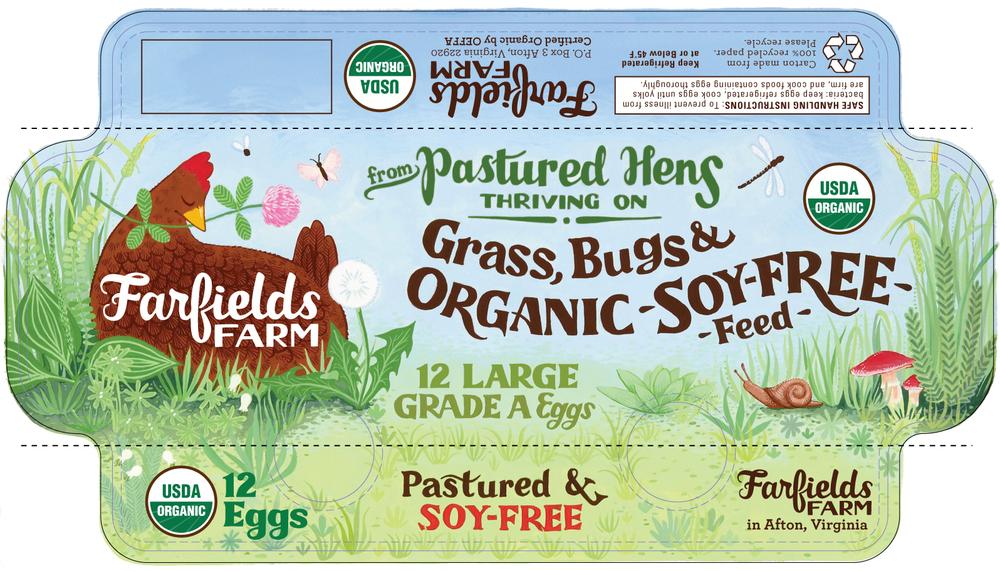 Farfields Farm Egg Carton