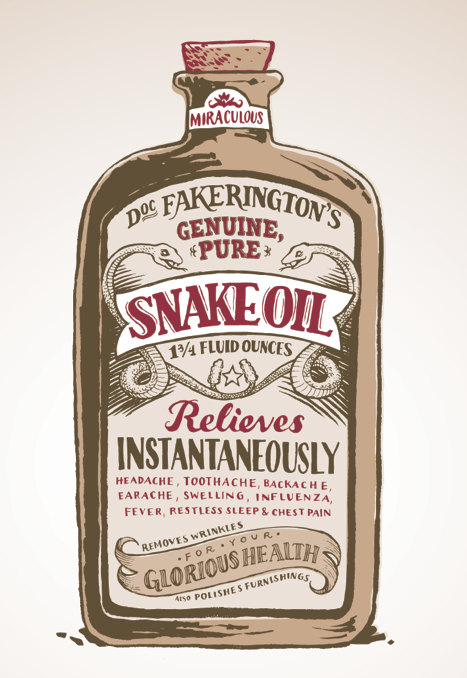 Snake Oil Illustration