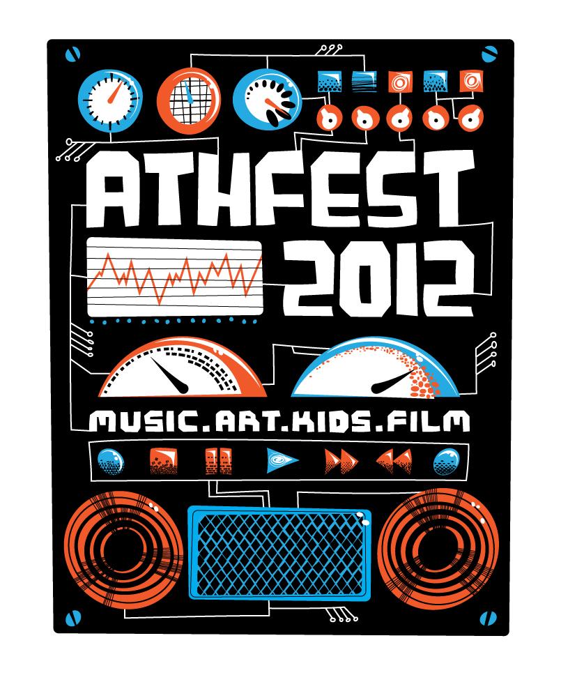 Athfest 2012 T-shirt Design