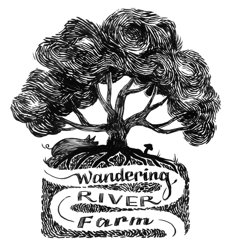 Wandering River Farm Logo