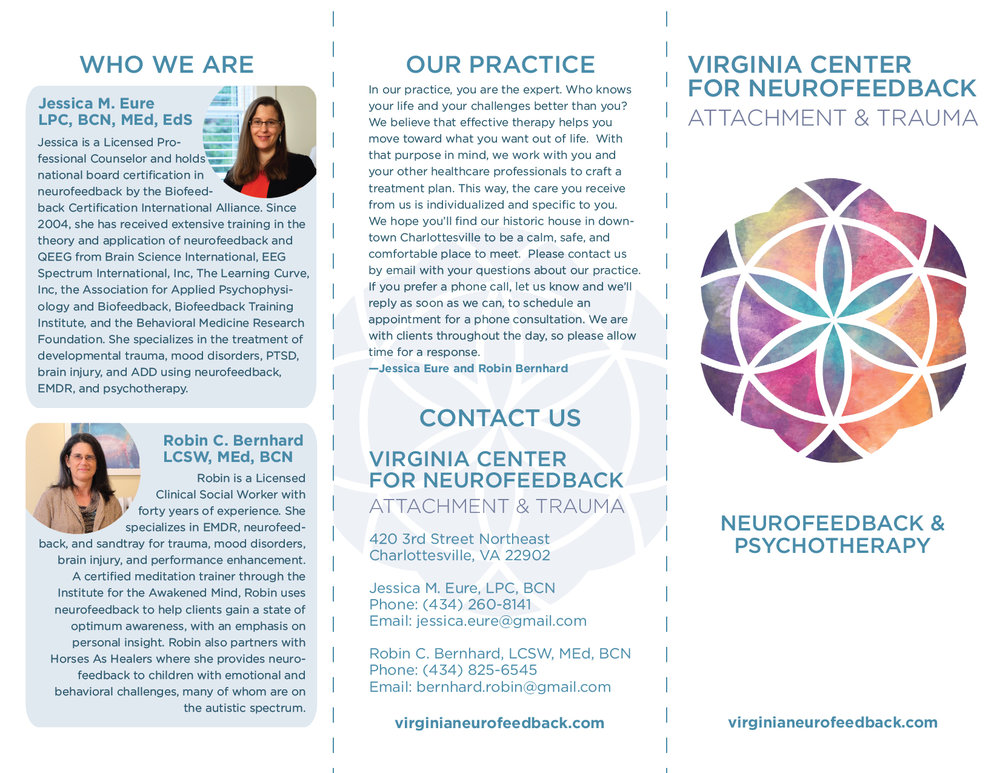 Virginia Center for Neurofeedback Brochure