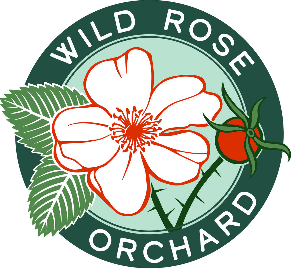 Wild Rose Orchard Logo