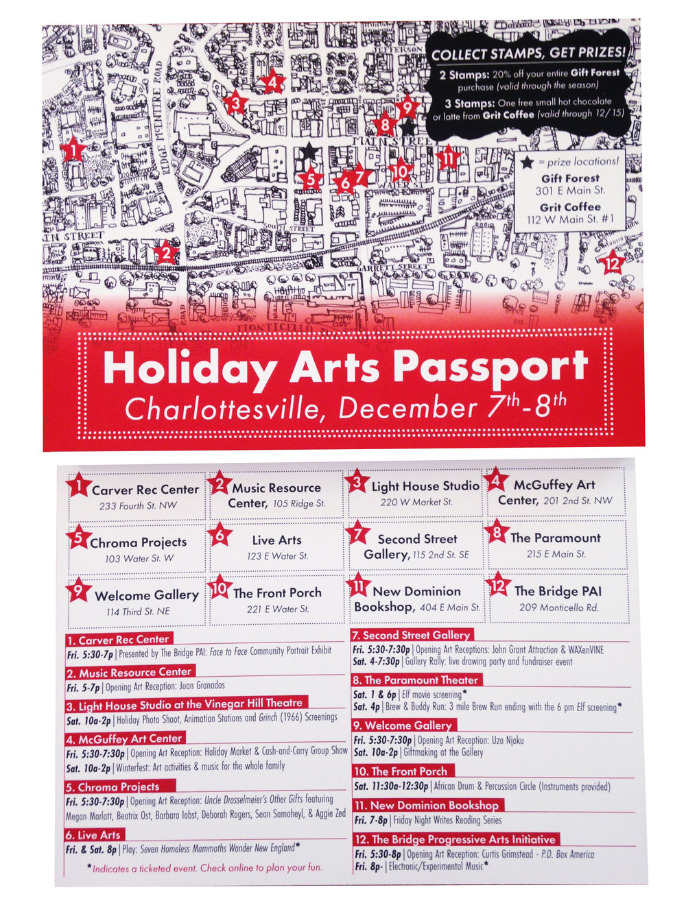 Holiday Arts Passport