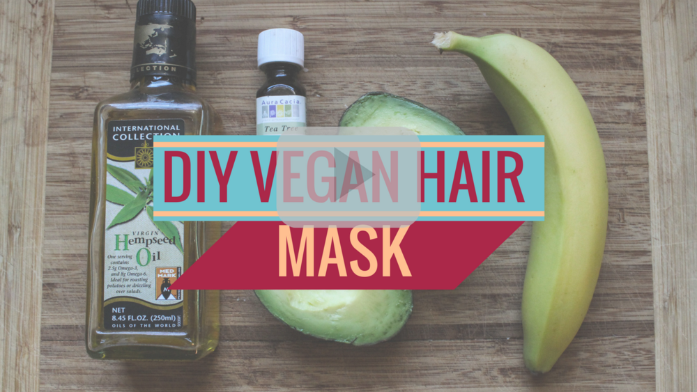 DIY Vegan Hair Mask