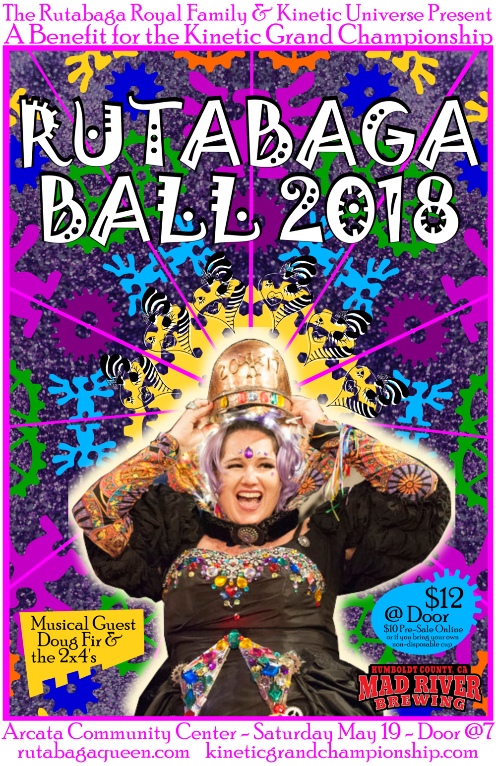 Get your  Rutabaga Ball Tickets NOW!