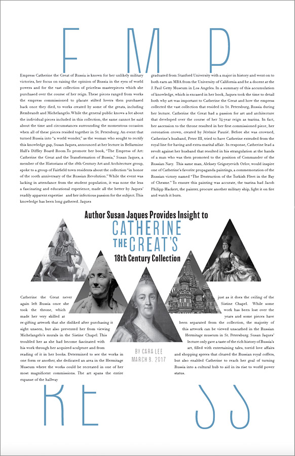 Interior Article Page | Student: Morgan Sharp