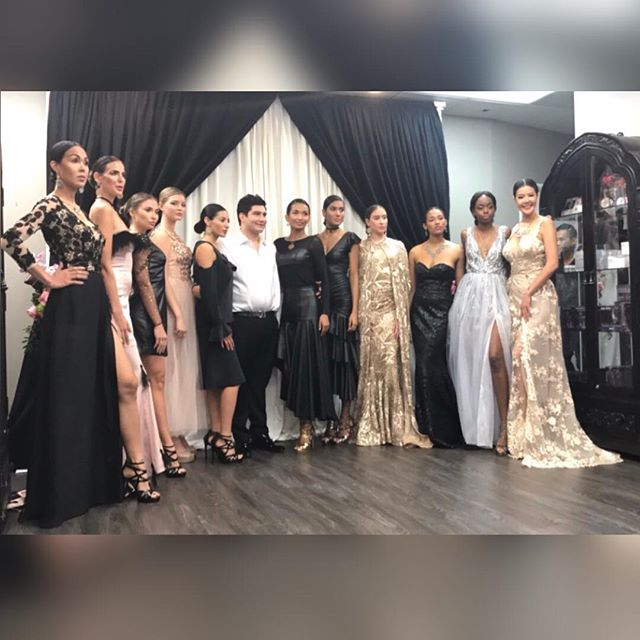 Had an amazing show today! Thank you to everyone who helped make this event such a success.  Much love 💛 . To make your appointment at the atelier call ☎️(213) 955-5818. . You can also order online at 🖥www.bijanandre.com. . #bijanandreatelier #bijanandre #fashionshow #couturegowns #gown #gowns #fashion #style #atelier