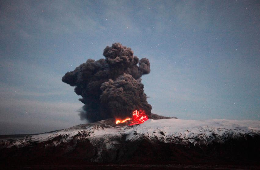 Eyjafjallajökull / Photo: Reuters, Lucas Jackson