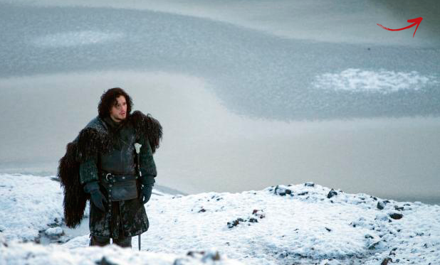 THE WINTER HAS ARRIVED Actor Kit Harington while filming in Iceland in 2011. Photo/Vilhelm Gunnarsson