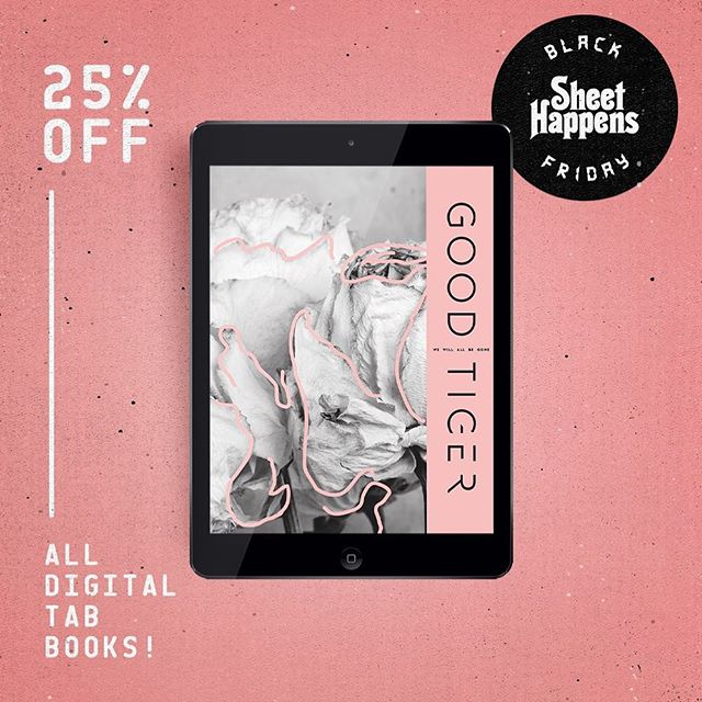 The friendly folks over at @sheethappenspublishing are running a store-wide digital book sale!  From now until Monday, all digital music books are 25% off.  No promo code needed - just head to www.shthppns.com and start shopping!