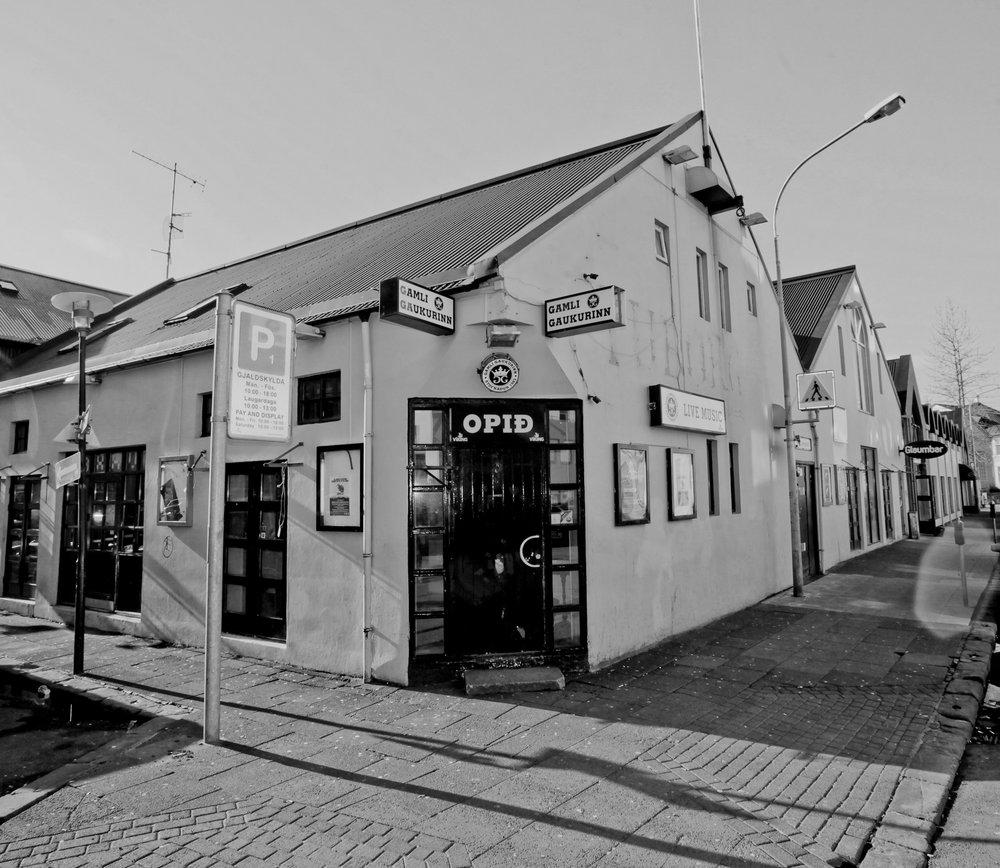 Gaukurrin - Home of weird Icelandic comedy and karaoke nights.