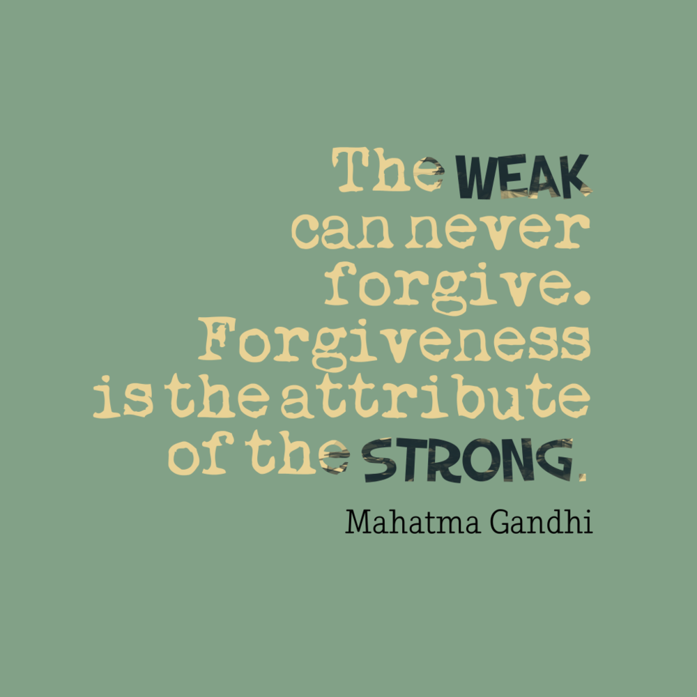 - Forgiveness as a process . . . .