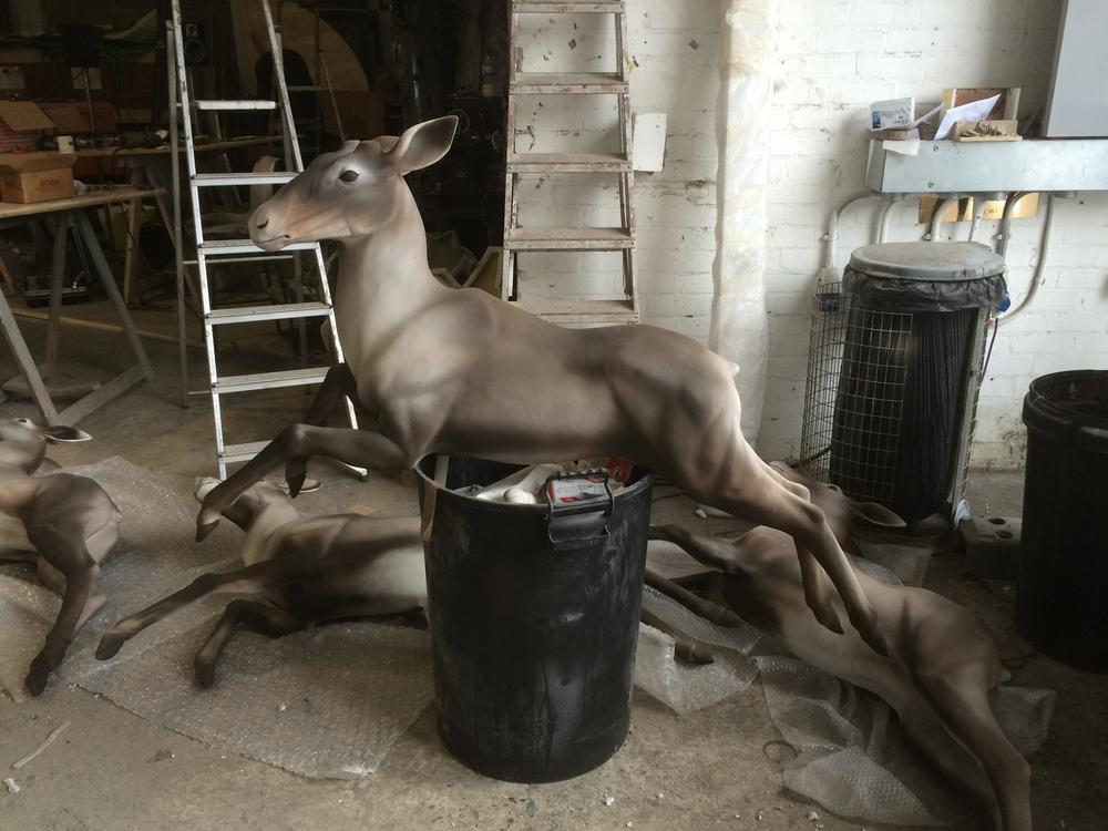 Reindeer prop