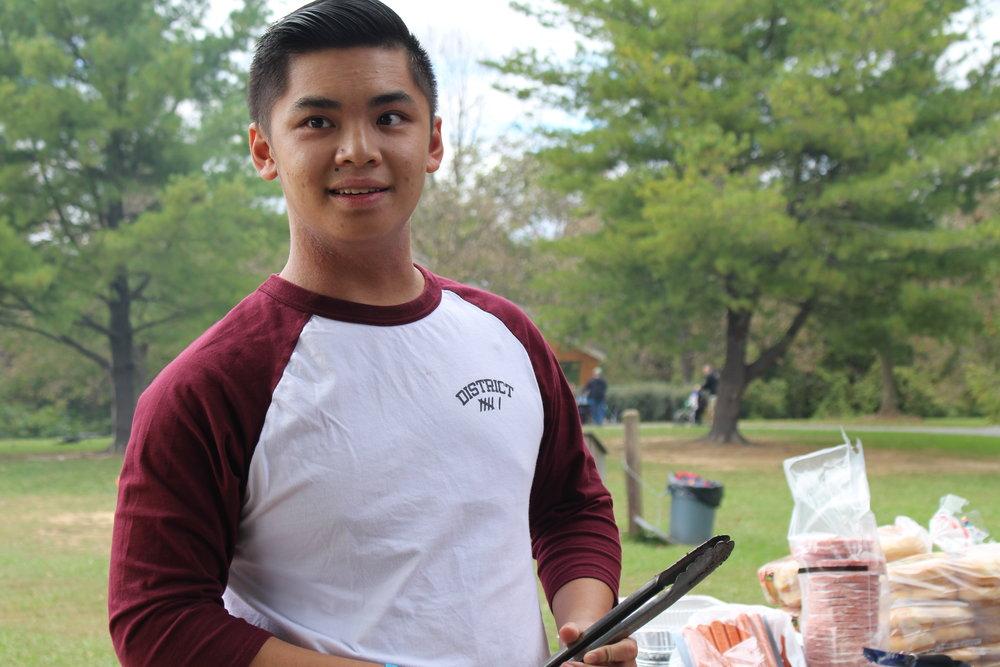 Jonathan Tran - Rep   Hey I'm Jon Tran, your DVI Secretary. I am a Sophomore at Towson University and majoring in Pre-Nursing. I play lacrosse and basketball on my free time along with eating a lot of food.