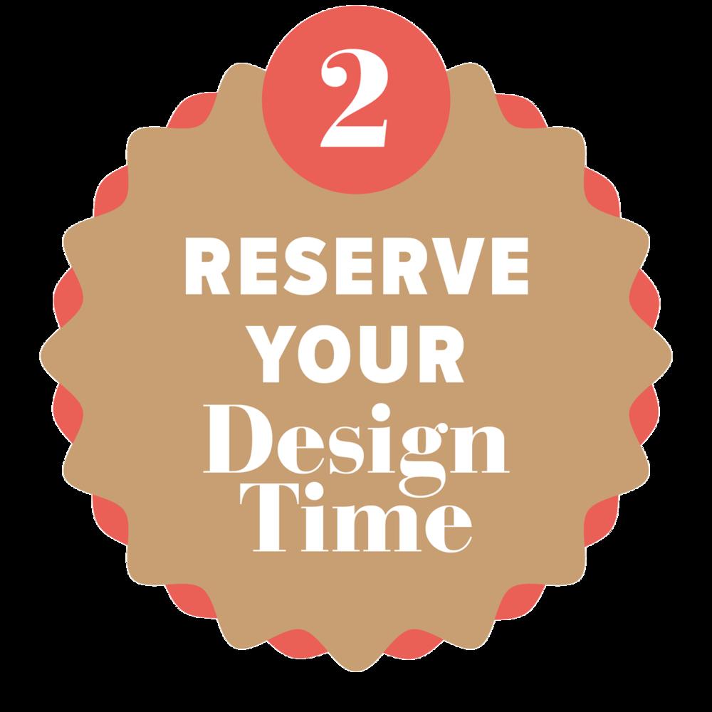 Reserve your website design week