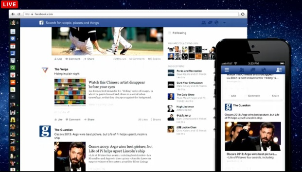 Feed for Pages and Public Figures you 'Like'. Better exposure for pages