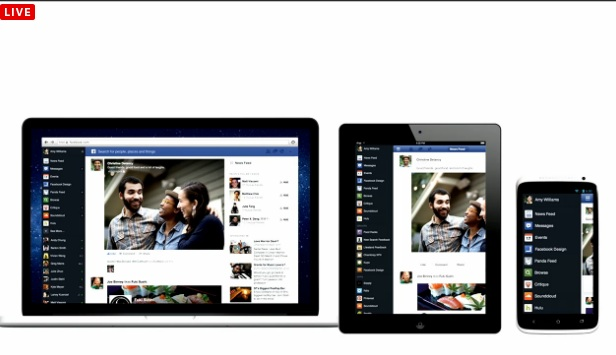 Same user interface on all devices