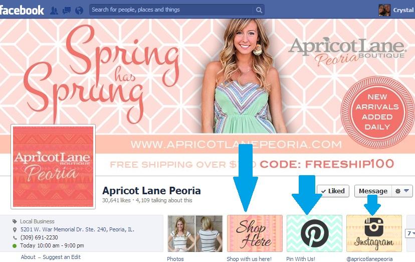 Branded Facebook Apps