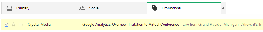 the new gmail email filtering system
