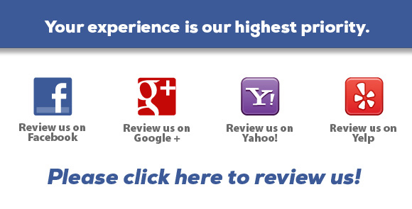 ask for reviews on your website