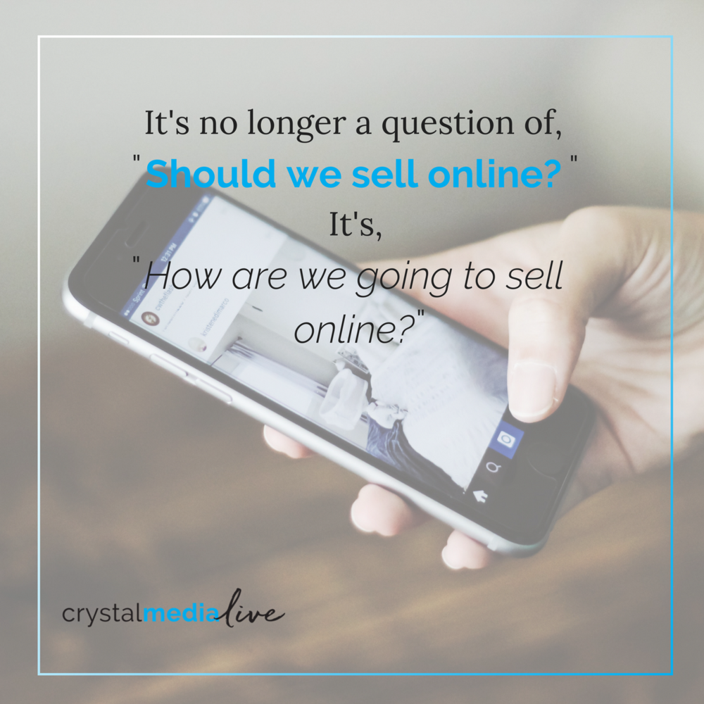 how are you going to sell online?